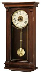 625-524 SINCLAIR HOWARD MILLER WALL CLOCK  WITH HARMONIC TRIPLE CHIMES  625524