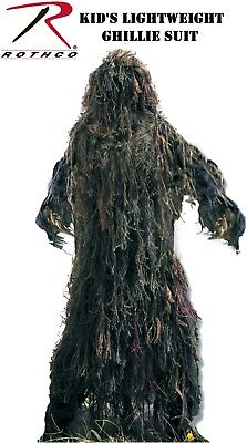 Army kid's ghillie suit youth sizes kids lightweight all purpose 64128 Rothco](Kids Ghillie Suit)