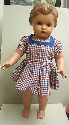 Schildkrötpuppe Puppe  URSEL  URSULA - gemarkt SIR   50er Jahre  ca. 53 cm rar