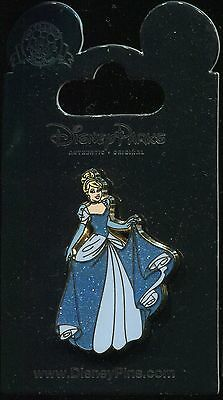 Princess Cinderella Glitter Dress Disney Pin 93362