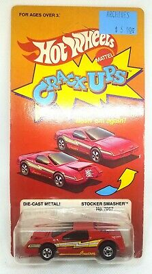 L@@K! its ACME - VINTAGE HOTWHEELS - 1983 CRACK UPS - STOCKER SMASHER