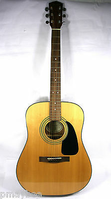 Fender DG-8S NAT Acoustic Guitar with Soft Nylon Gig Bag/Case 6 String Rt.Handed for sale  Shipping to Canada