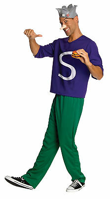 Archie Comics Jughead Adult Mens Costume Crown Burger Funny - Archie Comics Jughead Kostüm