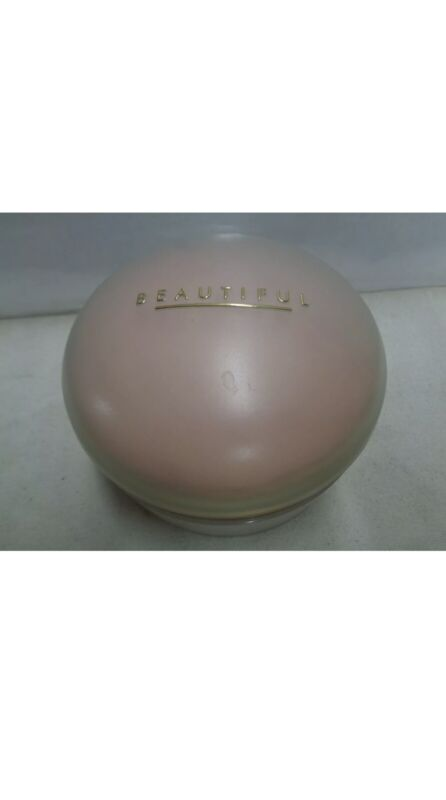 Estee Lauder Beautiful Body Powder unused older version 1990s vintage 4 oz.