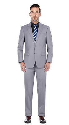 Men's Light Grey Classic Fit Italian Styled Suit Separate Italian Men Suits