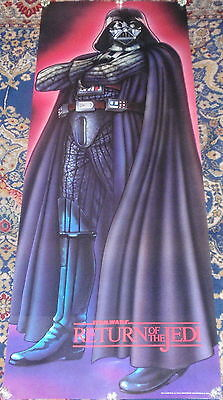 Star Wars Episode VI: Return of the Jedi Darth Vader Door Poster 26x70 NEW 1983
