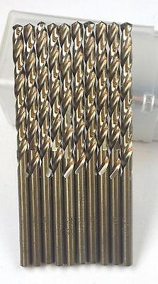 12 Pcs Number 25 Cobalt Jobber Drill Bit 135 Deg Sp Tap Drill For 10-24