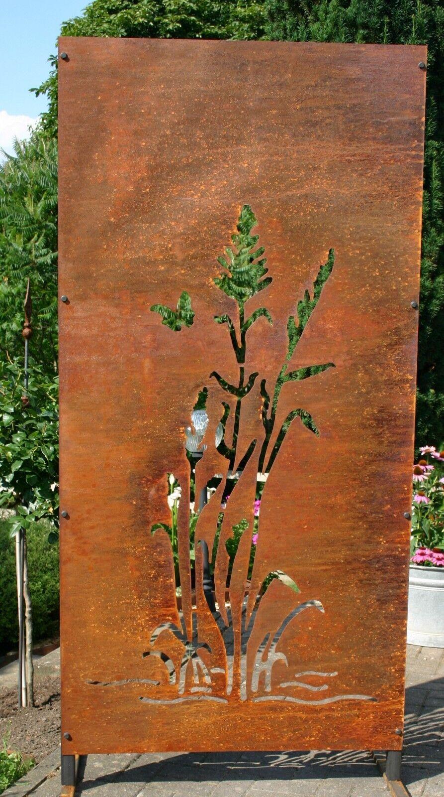 Sichtschutz Edelrost Metall Garten Ohne Motiv Art 1787