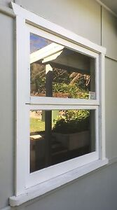 Set of TIMBER WINDOWS with FLYSCREEN and BLINDS Woolwich Hunters Hill Area Preview
