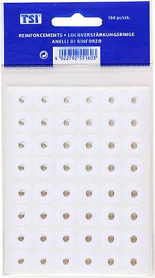 240 Lochverstärker weiss selbstklebend TSI Lochverstärkungsringe