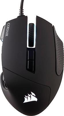 CORSAIR - Scimitar PRO Wired Optical Gaming Mouse with RGB Lighting - Black