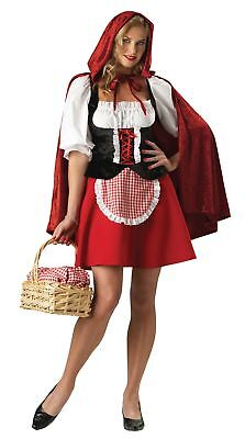 Red Riding Hood Adult Womens Costume Elite Collection Peasant Dress Halloween - Elite Costumes Halloween