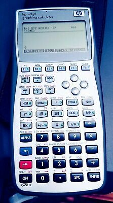 Hp 48gii Graphing Calculator With Case