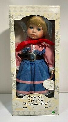 The Leonardo Collection Porcelain Doll Cowgirl LP4454. Her name is Dolly