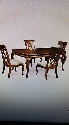 Dining Room Set Side Table - Bordeaux 5-Pc. Dining Room Set (Dining Table & 4 Side Chairs)