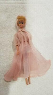 VTG Barbie # 4 Blond Ponytail Doll