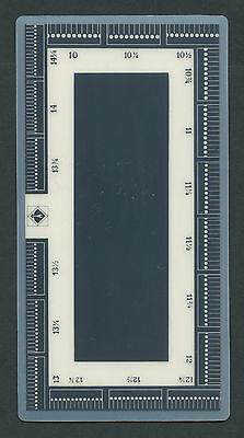 Lighthouse Perforation Gauge