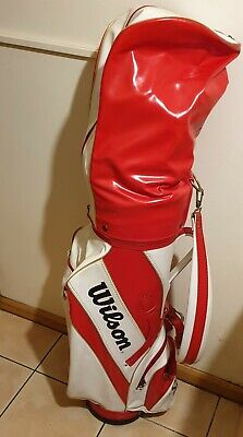 Wilson Mens Golf Club Set of Right Hand Clubs with Bag