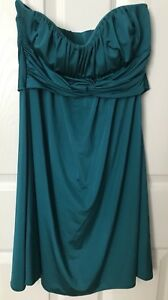 Size small strapless dress