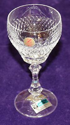 Cristallerie zwiesel verre de vin blanc avec rautenschliff, plomb h env. 14 cm