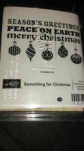 Stampin Up Something For Christmas Stamp Set Loganlea Logan Area Preview