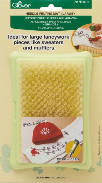 Clover Felting Needle Mat Large Punching Applique CL8911