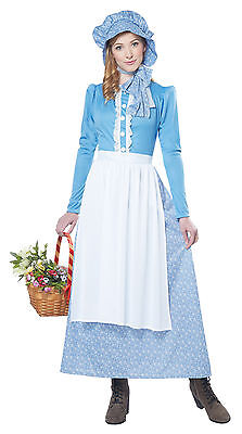 Pioneer Western Woman Bonnet Adult Costume](Western Women Costumes)