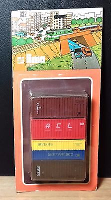 Ref 832 Container - LIMA - Scala HO - NEW OLD STOCK FACTORY SEALED - Vintage usato  Italia