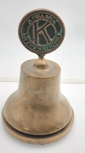 Kiwanis International Bronze Bell Presentation Bell