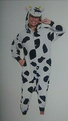 Cow Animal Onesie0 Adult Cosplay Costume One Piece Pajamas Unisex Men Women - Cow Costume For Men