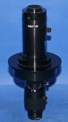 1 Used Navitar 1-6010 Tenx Zoom Lens With 1 Navitar 1-60439 Adapter