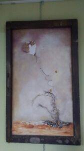 Toile par artiste peintre Francine Gauthier