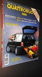 QUATTRORUOTE-462-aprile-1994-Golf-Variant