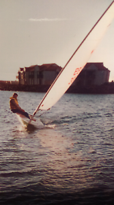 Laser sailing boat with trailer Ingle Farm Salisbury Area Preview