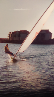Laser sailing boats with trailers
