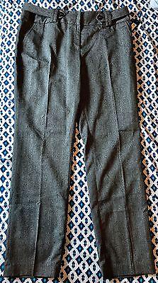 Nwt Apt 9 Gray Lines Pattern Business Professional Work Dress Pants Womens 16