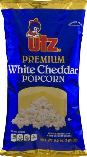 Utz Quality Foods Premium White Cheddar Popcorn 6.5 oz. Bag (6 Bags)