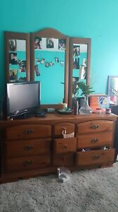 Dresser with mirror REDUCED