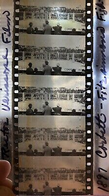 Film Strip Frame (Rare 5 Frame Film Strip,1897 CORBETT-FITZSIMMONS Boxing Match Carson)