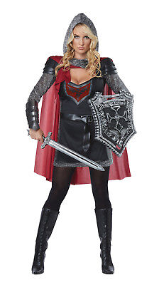 Renaissance Valorous Knight Medieval Dragon Slayer Women Costume