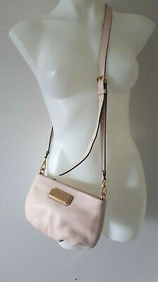 Marc by Marc Jacobs New Q Percy Cross Body Bag Papyrus Leche Light Pink