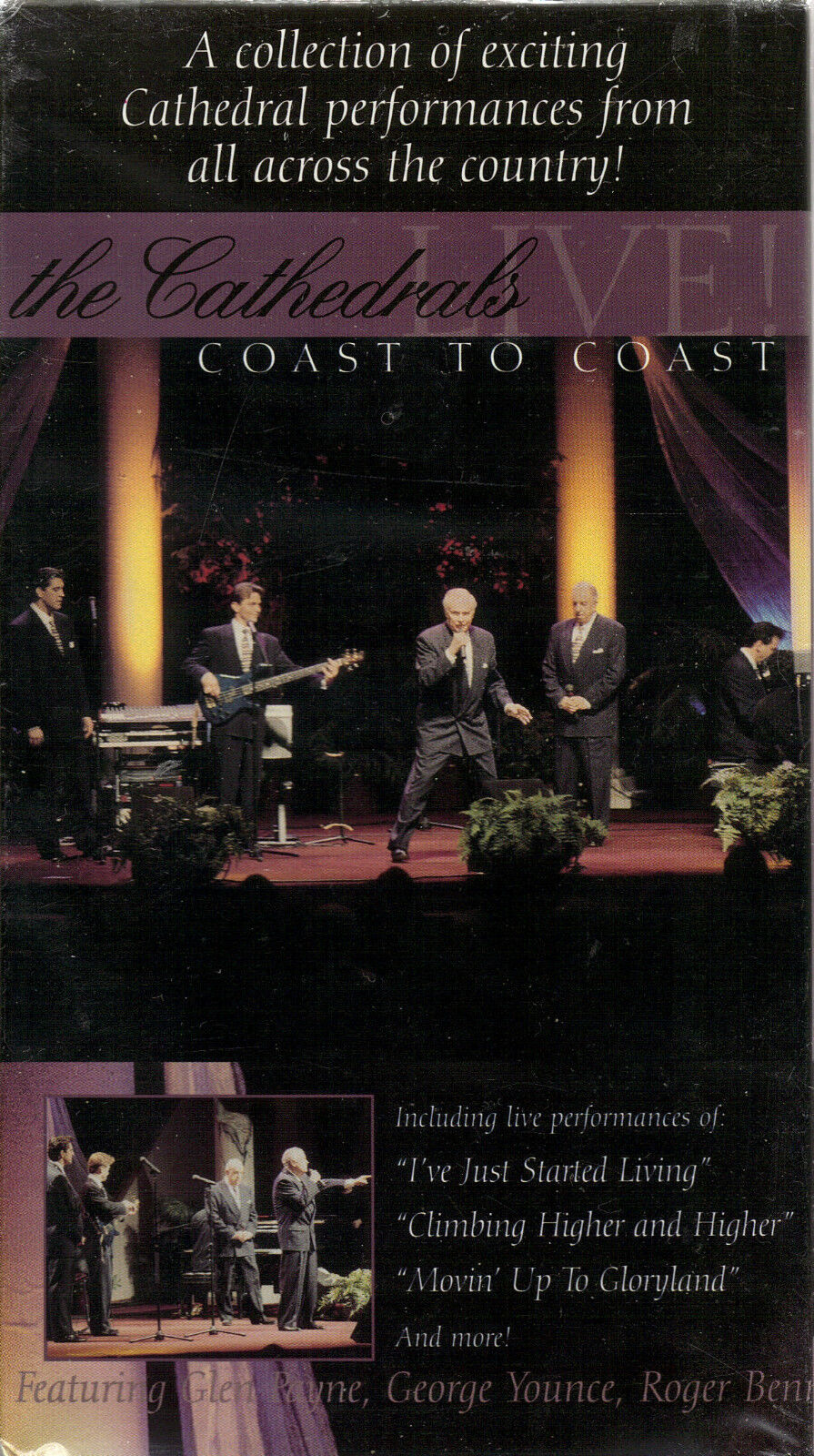 The Cathedrals....live Coast To Coast.....new Sealed Live Gospel Concert Video