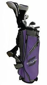 New-Callaway-Strata-Ladies-RH-11-Piece-Set-with-stand-bag