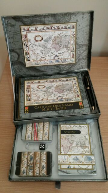 Card and Dice Games Gift Set
