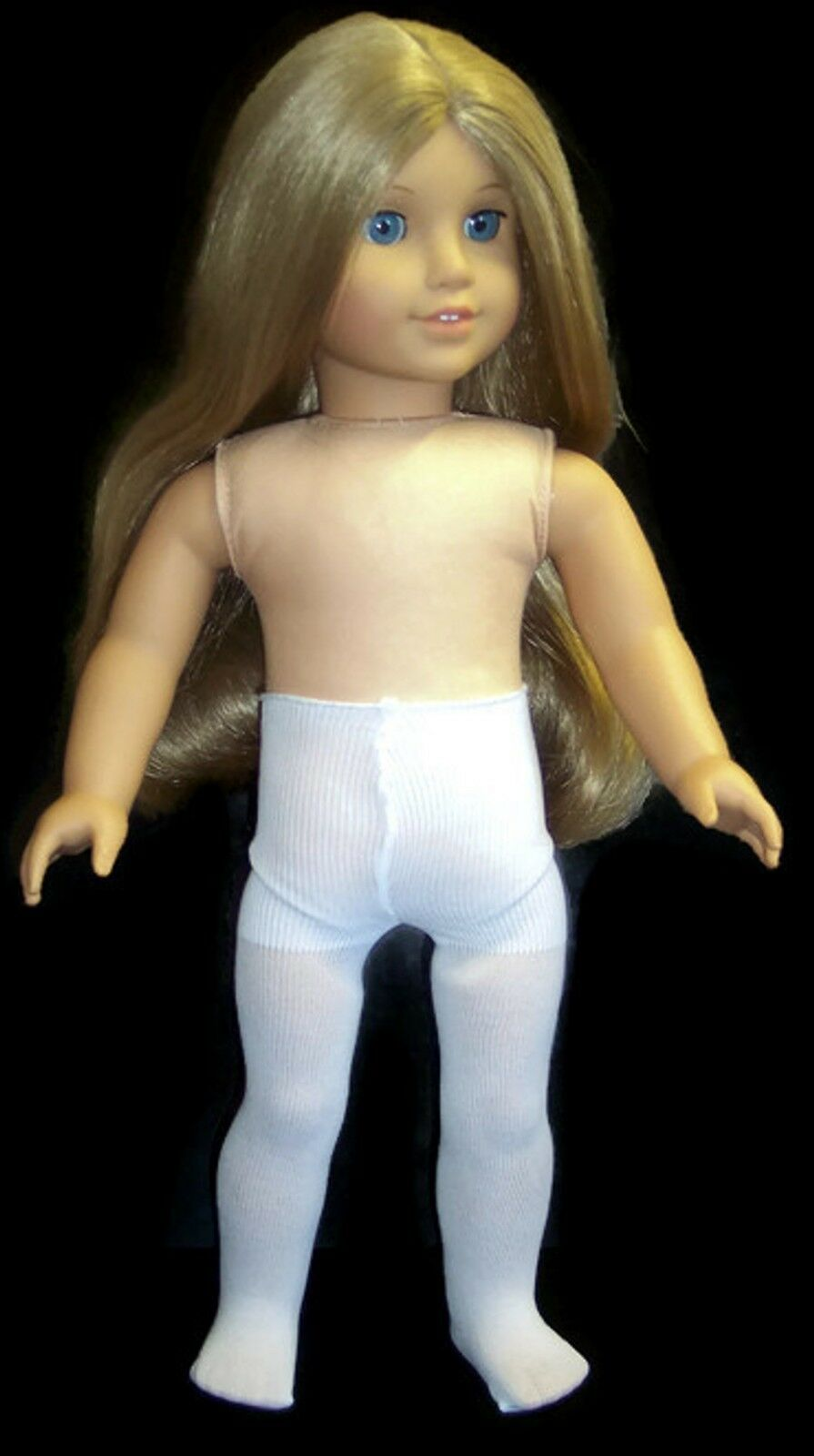 Купить Unbranded - White Tights made for 18 American Girl Doll Clothes Accessories