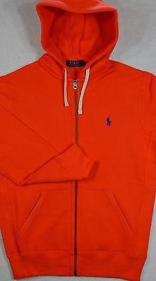 Polo Ralph Lauren Hoodie Zip Fleece Hooded Sweatshirt Jacket M NWT $98
