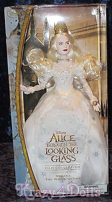 Disney Alice Through The Looking Glass Film Collection Doll Mirana White Queen](Through The Looking Glass White Queen)