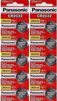 20 x SUPER FRESH Panasonic ECR2032 CR2032 Lithium Battery 3V Coin Cell Exp. 2028 comprar usado  Enviando para Brazil
