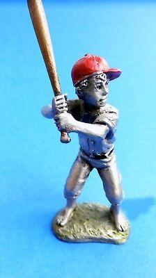 Hudson Pewter Villagers DANIEL baseball player #7619 Batter
