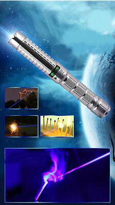 2WB890F5-A 450nm Blue laser pointer Burn Match Light Cigarette pop balloons